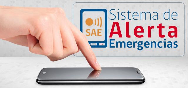 Infórmate sobre el Sistema de Alerta de Emergencia (SAE)
